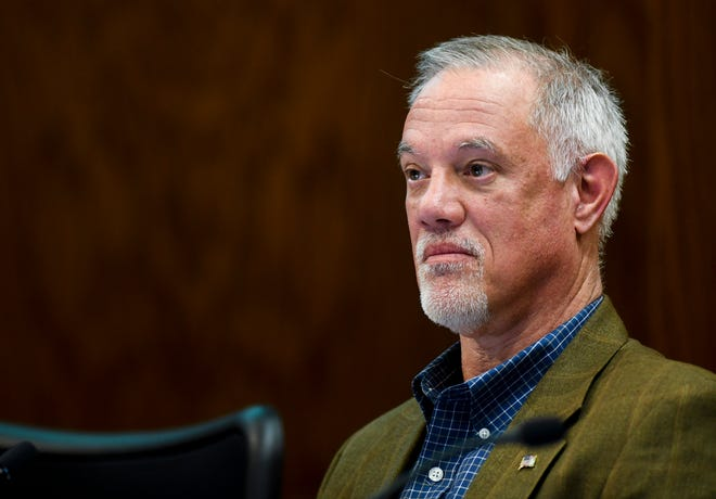 Councilor Curt Soehl attends a Sioux Falls City Council meeting on Tuesday, Jan. 7, 2020 at Carnegie Town Hall.