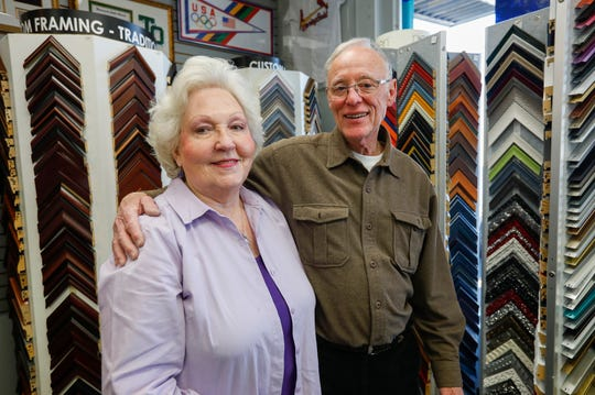 Jerry and Jean Sanders will be celebrating the 50th anniversary of the National Art Shop.