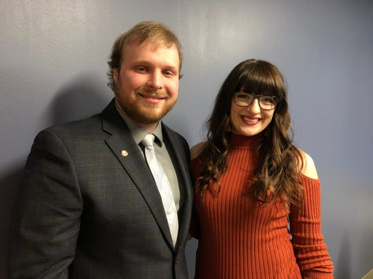Brandon and Clare Richards of St. Cloud founded Impacks after backpack drives they participated in showed them how many students were in need of school supplies.