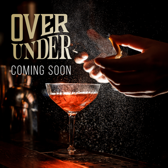Over Under, a new bar concept coming to Midtown in early next month.