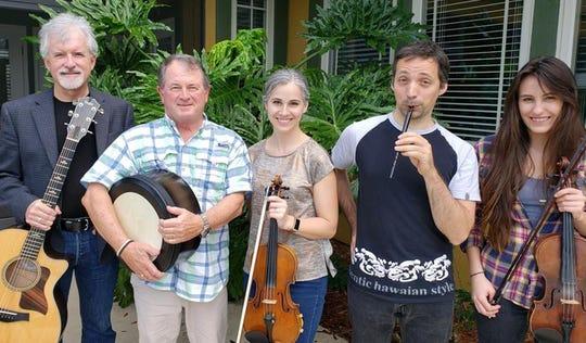 Irish music ensemble Meabh's Mavericks plays traditional music  at 8 p.m. Friday at Blue Tavern.