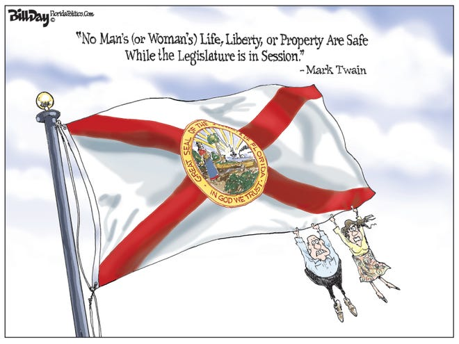"""""""No Man's (or Woman's) Life, Liberty, or Property Are Safe While the Legislature is in Session."""" - Mark Twain"""