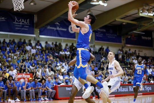 Camarillo High graduate Jaime Jaquez Jr. has averaged 7.5 points and 4.8 rebounds through 15 games of his freshman season at UCLA.