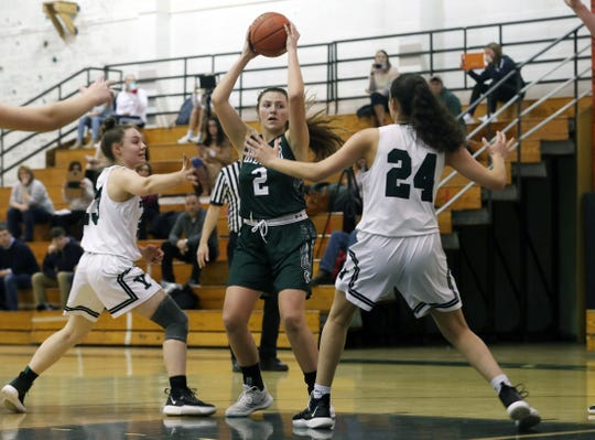 Brewster forward Grace Galgano averaged 15 rebounds and 10 blocks last week. The Bears dropped a pair of league contests against Panas and Yorktown.