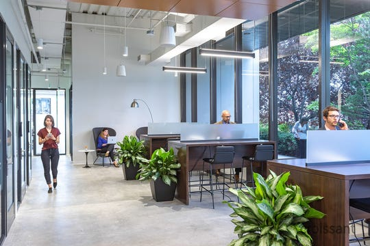 Slalom's temporary office at 44 S Broadway in White Plains