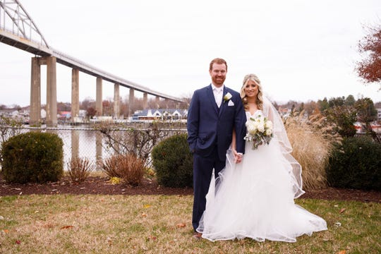 Adrienne Richle and Justin Hughes / Nov. 23, 2019