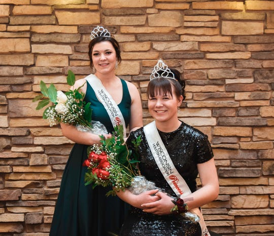Hannah Ullom of Chippewa County will serve as the Wisconsin Holstein Association Princess with Roslind Anderson of Pierce County joining her as the WHA Princess Attendant.