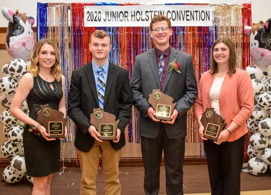 Mason Jauquet, Rachel McCullough, Hannah Nelson and Colin Uecker were selected as representatives in the DJM category and will submit award forms to the national level with hopes of being honored at the National Convention.