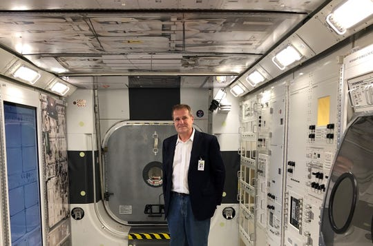 University of North Carolina professor Stephan Moll, an expert on coagulation who is a fan of space travel, was invited to visit NASA facilities in Houston after the agency asked for his help in treating an astronaut with a blood clot.