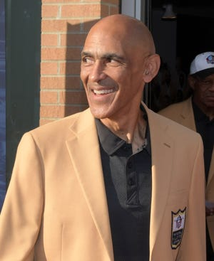 Former Buccaneers and Colts head coach Tony Dungy heard for years he didn't interview well for head coaching positions. Now he's in the Hall of Fame.