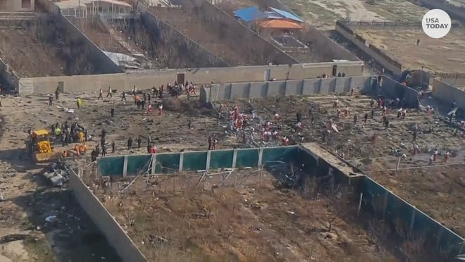 Iran plane crash leaves 176 dead: 'Black boxes' found, Boeing flight under investigation