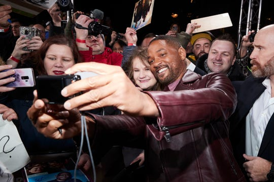 "Will Smith is seen with fans at the Berlin premiere of ""Bad Boys For Life"" at Zoo Palast on January 7, 2020 in Berlin, Germany. A company tied to his younger brother, Harry Smith, filed an application involving Copper Canyon in Sparks."