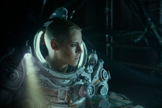 "Kristen Stewart takes on mysterious creatures seven miles below the ocean surface in the sci-fi thriller ""Underwater."""