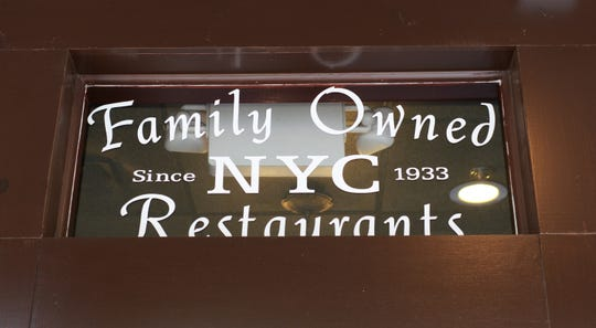 A detail from 828 Family Pizzeria, once called Marco's Pizzeria.