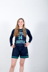 Caroline Sikkink is a senior basketball player for Asheville Christian Academy
