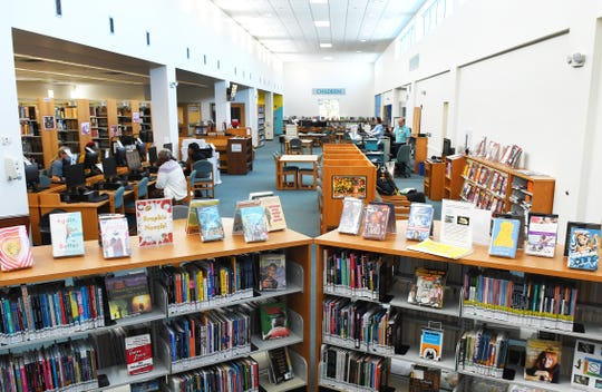The Dr. Martin Luther King, Jr. Public Library in located at 955 E. University Blvd. in Melbourne.