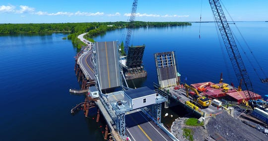 The Vermont Agency of Transportation (VTrans) is replacing Bridge 8 on US 2 between the towns of North Hero and Grand Isle, Vermont. This drawbridge is a historic twin leaf bascule bridge, and the only vehicular movable bridge in the State of Vermont.