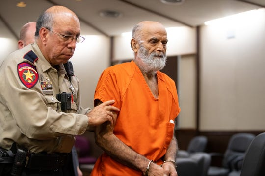 Mohammad Sahi, the 72-year-old pleads not guilty to capital murder of multiple persons and aggravated assault with a deadly weapon in the 105th District Court on Thursday, Jan. 9, 2020.