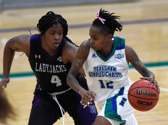 Texas A&M-Corpus Christi women's basketball team faces Stephen F. Austin, Wednesday, Jan. 8, 2020, at the Dugan Wellness Center.  Stephen F. Austin won, 66-44.