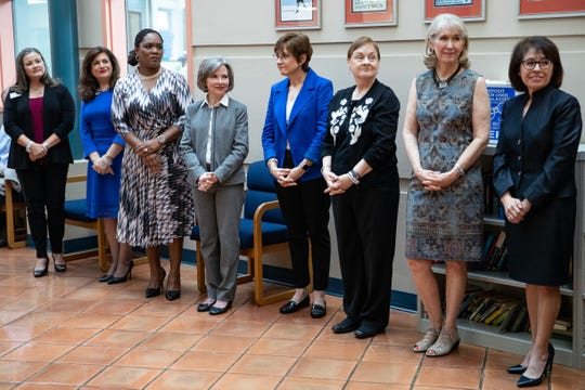 The YWCA announces the eight winners of Y Women in Careers awards at the YWCA on Thursday, Jan. 9, 2020.