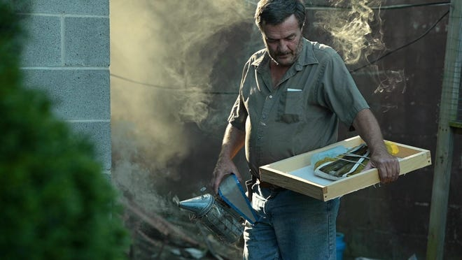 """Dave Watson says once beekeeping is in your blood, """"it's hard to shake it."""" He's spent his life raising bees, but his plot on Wheeling Island has allowed him to expand on the practice, providing a small supplemental income while also serving as a therapy of sorts."""