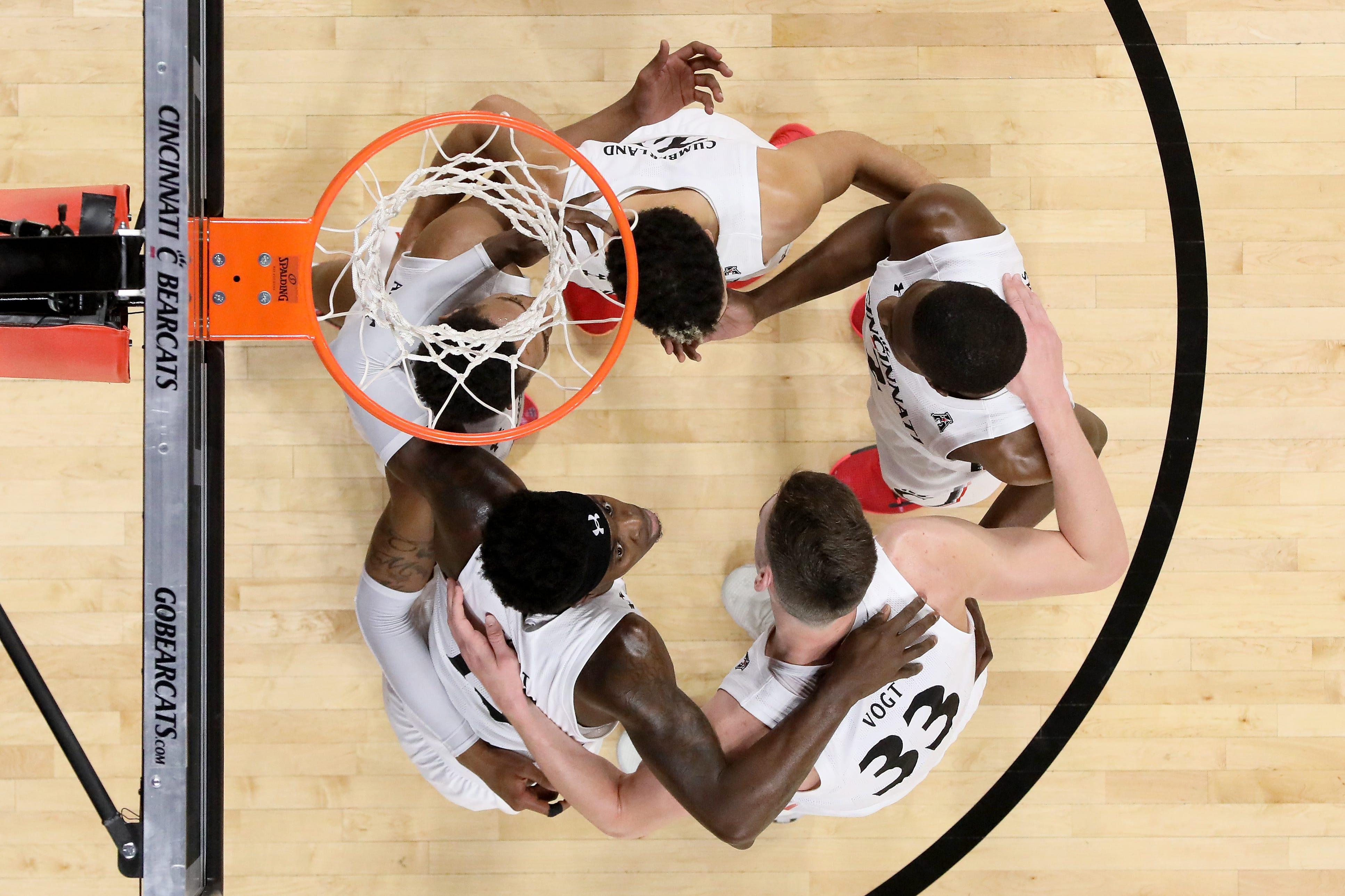 Tulsa Golden Hurricane at Cincinnati Bearcats basketball, Jan. 8