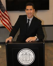 Hector Montes, the new interim principal at Somerset County Vocational & Technical High School.