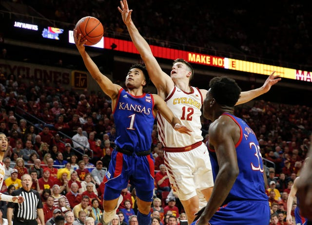 Devon Dotson could be a first round pick in 2020.  (Photo: Bryon Houlgrave/The Register, via Des Moines Register.)