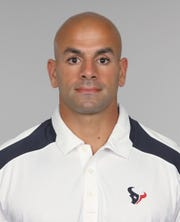 Robert Saleh got his start in NFL coaching with the Houston Texans.
