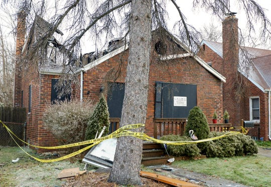 A body was found by firefighters at a home near Country Club and Canton in Harper Woods.