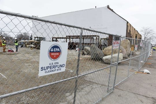 Four members of Michigan's congressional delegation have asked the EPA for more help cleaning up the defunct Electro-Plating Services in Madison Heights.