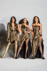 En Vogue members, from left,   Rhona Bennett, Terry Ellis and Cindy Braggs.