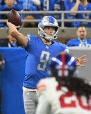 To trade quarterback Matthew Stafford to New England, a package would have to start with something similar the Patriots received from San Francisco in the Jimmy Garoppolo trade in 2017.