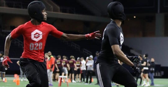 Michigan State has a weekend official visit scheduled for Jan. 31 with three-star Duncanville (Texas) cornerback Ennis Rakestraw (left).