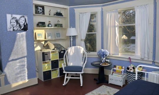 Yvonne Shafer of Bloomfield Township is thrilled with the results of her room makeover. She is the winner of this year's Detroit News Homestyle Section's Messiest Room Contest. A team of professional organizers from the NAPO-Michigan chapter spent the day Wednesday cleaning out and re-designing Shafer's guest room for her two young granddaughters.