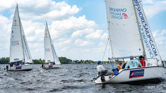 Take your initial, basic sailing lessons on the same boat the U.S. Naval Academy uses to train its plebes— a Colgate 26.