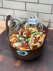 Playoff Poutine is one of two new foods available at Lambeau Field for the Green Bay Packers divisional round playoff game.