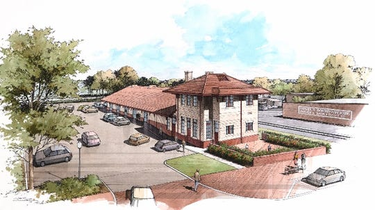 Historic Greer Depot to undergo $1 million redevelopment
