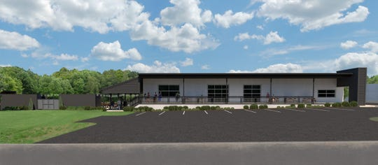 A rendering of the planned Warehouse at Vaughn's development, which is coming to Trade Street in downtown Simpsonville where the Country Store at Vaughn's was.