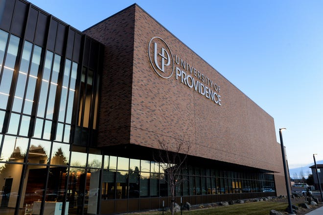 University of Providence Student Center building in Great Falls, Mont.
