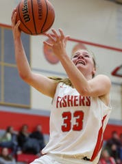 FILE – Katie Burton hit a game-winning layup against Westfield in Friday's sectional semifinal.