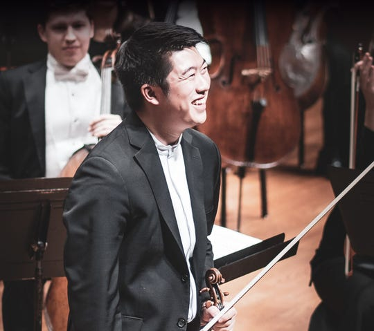 Kevin Lin is the new concertmaster for the Indianapolis Symphony Orchestra.