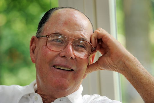 FILE: Golf course designer Pete Dye was inducted into the World Golf Hall of Fame.