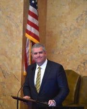 House Speaker Philip Gunn unveiled committee leaders on Thursday morning.