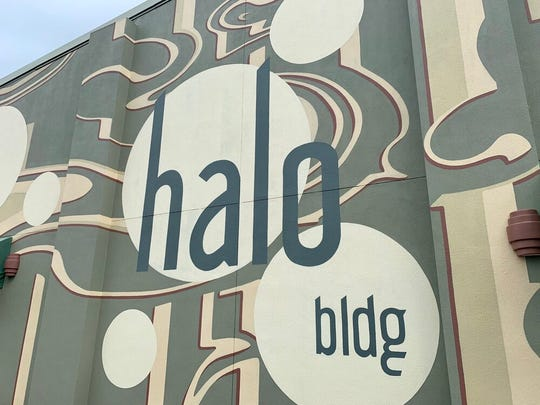 The Halo Building, a part of downtown's Façade Improvement Grant Program, presented this weekend along with the first ArtWalk of 2020.