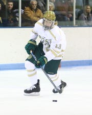 Steven Miller had a hat trick and the game-winning goal for Howell in a 6-4 victory over Canton.