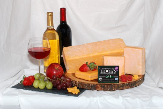 For only the second time, Hook's Cheese Co. of Mineral Point will release a sharp cheddar aged for 20 years. It's due May 23, and some stores are taking advance orders. The last time the $209-a-pound cheese was released was in 2015.