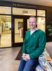 Waukesha County developer Matt Neumann photographed at his corporate office in Pewaukee on Friday, April 12, 2019.