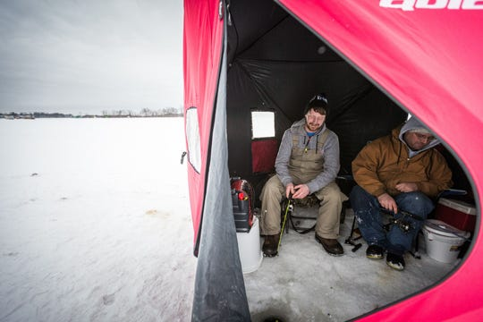 Take advantage of Free Fishing Weekend in Wisconsin January 18 - 19.