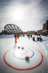 Curling is catching on in Wisconsin as a new favorite sport for people of all skill levels.